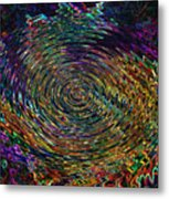 In The Whirl Of Light Metal Print