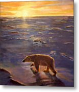 In The Wilderness Metal Print by Kevin Parrish