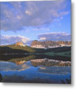 In The Wind River Range. Metal Print