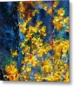 In The Woods Again Metal Print