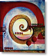 In The World Of Balance Metal Print