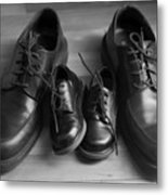In Their Shoes Metal Print