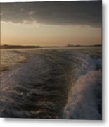 In To  The Storm Metal Print