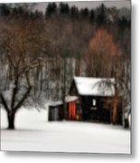 In Winter Metal Print