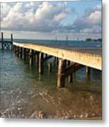 In With The Tide Metal Print