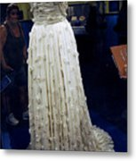 Inaugural Gown On Display Metal Print