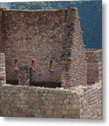 Inca Structure Metal Print