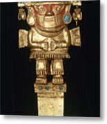 Incan Gold Ornament Metal Print