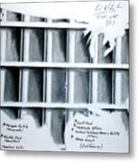 Incarceration Nation Metal Print