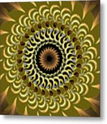 Incendia Kaleidoscope Metal Print