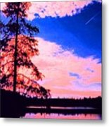 Incoming Over Algonquin Park 2 Ae Metal Print