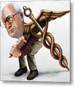 Increased Medical Costs Metal Print by Denny Bond