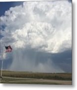 Independence Day In Sioux County Nebraska Metal Print