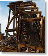 Independence Gold Mine Ruins Metal Print