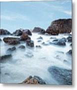 Indian Beach At Ecola State Park, Oregon  Metal Print