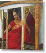Indian Bride Metal Print