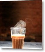 Indian Chai Metal Print