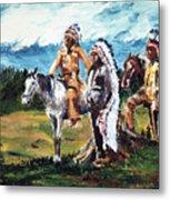 Indian Chiefs Metal Print