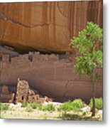 Indian Cliff Dwellings Metal Print by Thom Gourley/Flatbread Images, LLC