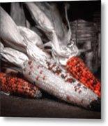 Indian Corn Still Life Metal Print