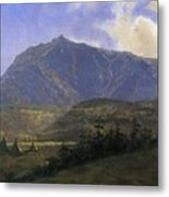 Indian Encampment Albert Bierstadt Metal Print