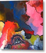 Indian Eye Metal Print