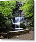 Indian Ladder Falls Metal Print