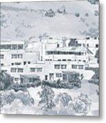 Indian Lodge Metal Print
