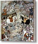 Indian Mughal Book Metal Print