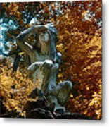 Indian Summer Along The Wissahickon Metal Print
