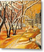 Indian Summer Wish Metal Print by Milagros Palmieri