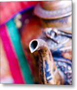Indian Tea Kettle Metal Print