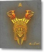 Indian Totem Metal Print