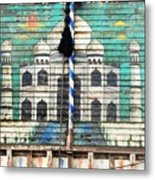 Indian Truck Art 3 - Taj Mahal Metal Print