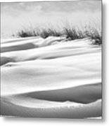Indiana Snow Metal Print