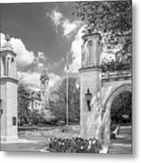 Indiana University Sample Gates Metal Print