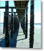 Indianola Washington Dock 2 Metal Print