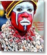 Indigenous Woman L A Metal Print