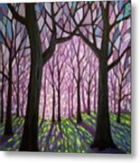 Indivisibly Intertwined Metal Print