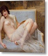 Indolence Metal Print by Guillaume Seignac