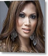 Indonesian Beauty 1 Metal Print