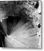 Indoor Spiral Metal Print