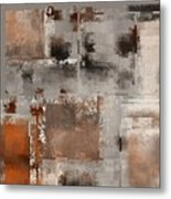 Industrial Abstract - 01t02 Metal Print