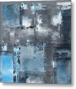 Industrial Abstract - 10t Metal Print