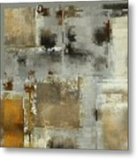 Industrial Abstract - 24t Metal Print