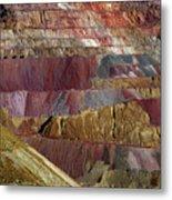Industrial Colorscape Metal Print