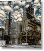 Industrial Disease Metal Print