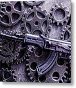 Industrial Firearms  Metal Print