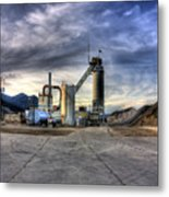 Industrial Landscape Study Number 1 Metal Print