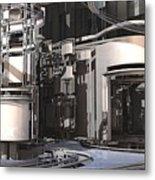 Industrial Manufacturing Metal Print